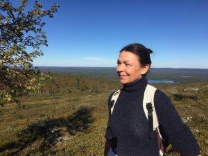 Olavinen Nammalakurussa Lapissa. Kuva: Sten Maury