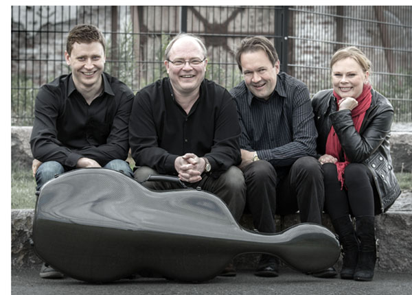 Avajaiskonsertti – Uusi Helsinki -kvartetti ja Roope Gröndahl